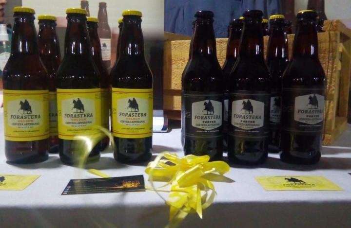 Desde Panimávida Cerveza Forastera, curativa ycuradora